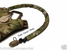 Airsoft Paintball Multicam Hydration Back Pack Drink Tube Cover Sleeve...