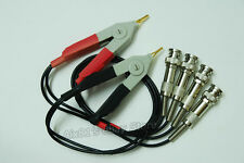 LCR Meter Test Leads Lead / Clip Cable / Terminal Kelvin Clip Wires with 4 BNC