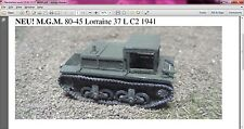 MGM 80-45 1/72 Resin WWII French Lorraine 37 L C2 1941