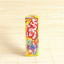 Japan PUCCHO Round BALLS - COLA Crispy & Chewy candy Gummy Japanese UHA 31 grams