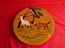 plateau à fromage décor la chèvre de monsieur seguin