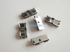 2X Micro USB 3.0 Female Type B 10Pin SMT Socket 11.3mm for mobile phone pc