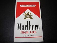 "RON ENGLISH POPAGANDA Cigarettes High Life 3"" Sticker decal frm poster art print"