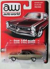 AUTO WORLD 1967 BUICK GRAN SPORT #5 Champagne True 1:64 NEW TOOL! PAINT DEFECTS