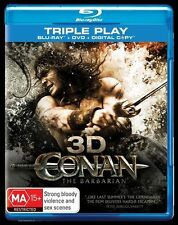 Conan The Barbarian - 3D (3D + 2D Blu Ray, 2011, 2-Disc Set)