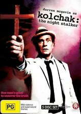 Kolchak - The Night Stalker : The Complete TV Series (DVD, 2009, 5-Disc Set)
