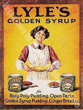 Vintage Food 84, Lyle's Golden Syrup Cafe Kitchen Old Shop, Large Metal/Tin Sign