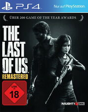 Sony Playstation 4 PS4 Spiel The Last Of Us -- Remastered  USK 18