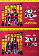 3 SID & NANCY 30TH ANNIVERSARY FILM POSTCARDS GARY OLDMAN CHLOE WEBB SEX PISTOLS