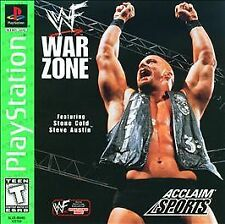 WWF War Zone Playstation 1 2 PS1 PS2 STONE COLD STEVE AUSTIN BRAND NEW SEALED