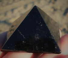 Shungite Pyramid  Russia  Treats Negativity and Purifies Water  70 mm #122000