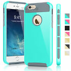 Shockproof Hybrid Rugged Rubber Protective Cover Case for iPhone 5C 5S 6s Plus