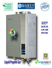 Marey GA16LP ETL 5.4 GPM Whole House Gas Tankless Water Heater - Liquid Propane