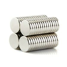 Set Of 30 Pieces 10mm x 2mm Round Rare Earth Neodymium Strong Magnet N52