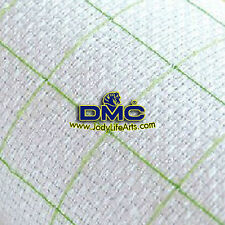 Pre-Grided, checked, Cross Stitch Aida Fabric Cloth - 14ct white, 50cm X 50cm