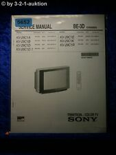 Sony Service Manual KV 29C1D /A /B /E /K /R Color TV (#5652)