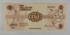 ANA collector currency brown 1$ Series 1988 ABNC