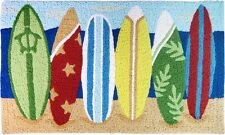 Hawaiian Tropical Decor Floor Door Mat Home Bathroom Surf Island Style Rugs NB