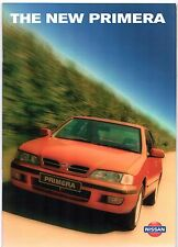 Nissan Primera 1996-97 UK Market Sales Brochure Equation GX Si SLX SRi SE