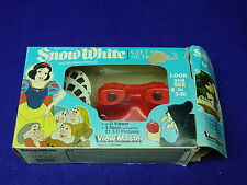 1987 SNOW WHITE AND THE SEVEN DWARFS View-Master Gift Set, Walt Disney, Complete