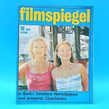 DDR Filmspiegel 16/1984 Lolek und Bolek Blankenburg Philippe Noiret W. Plathe N