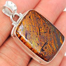 Boulder Opal 925 Sterling Silver Pendant Jewelry BDOP649