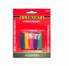 Lot of 24 Packs - Sanford Foam Pencil Pillow Grips Assorted Colors, Pack Of 5