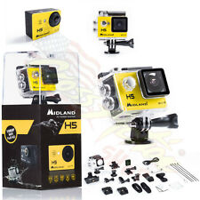 MIDLAND VIDEOCAMERA ACTION CAM H5 FULL HD 2016 + SCHERMO LCD MOTO CROSS ENDURO