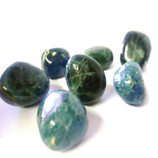 Blue Apatite Tumbled Crystal For Astral Travel, Intellect & Focus for Students