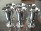 6 Beautiful Vintage Sterling Silver Cordials Goblets Shot Glasses 180 grams