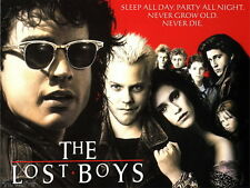 "022 The Lost Boys - 1987 American Horror Film Movie 19""x14"" Poster"