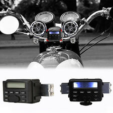 Waterproof Audio FM Radio MP3 For Harley Davidson Dyna Glide Fat Bob Street Bob