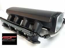 LS1 LS2 102mm SHEET METAL INTAKE MANIFOLD TIG WELDED ALUMINUM W/FUEL RAILS