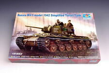 Trumpeter 00358 1/35 Russia KV-1 model 1942 Simplified Turret Tank