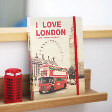 7321 Photo Diary Journal Weekly Planner_I Love London + Stamp Sticker (4Sheets)