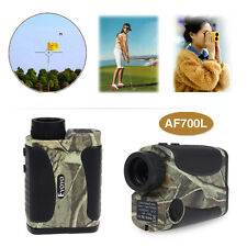 6x700 Yd Waterproof Hunting Laser Rangefinder Distance Speed Measurer Meter