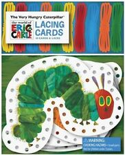 The Very Hungry Caterpillar Lacing Cards by Eric Carle and Chronicle Books...