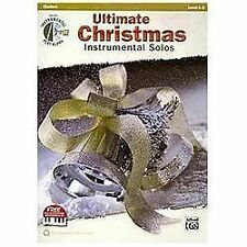 Ultimate Christmas Instrumental Solos: Clarinet (Book & CD), Staff, Alfred Publi