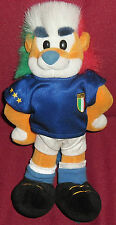 1 PELUCHE PLUSH LION MONDIALI CALCIO WORLD CUP GERMANIA 2006-LEONE ITALY ITALIA