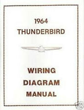 1964 Ford Thunderbird TBird Wiring Manual