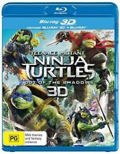 Teenage Mutant Ninja Turtles - Out Of The Shadows (Blu-ray, 2016, 2-Disc Set)