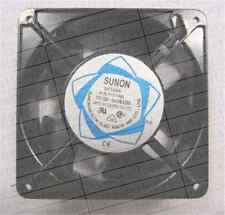 SUNON SP100A 1123XSL Cooling fan AC110-120V 0.26A 120*120*38mm 2pin #M3959 QL