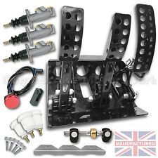 BMW E30 Remote Hydraulic Floor Mounted Pedal Box + KIT A CMB6051-HYD-KIT