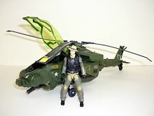 GI JOE DRAGONHAWK Action Figure Vehicle 25TH ROC COMPLETE w/WILD BILL 2009