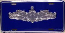 Aluminum Military License Plate Navy Surface Warfare NEW