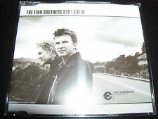 The Finn Brothers Won't Give in Australian 3 Track CD Single