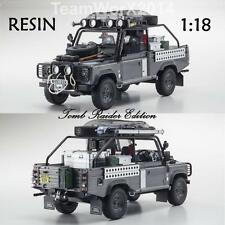 Kyosho KSR08902TR Land Rover Defender Tomb Raider Edition RESIN 1:18 PRESALE!!
