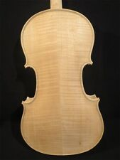 Hand made solid wood song brand unfinished violin, whtie violin 4/4 #11495