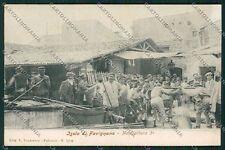 Trapani Favignana Pesca Tonno REUSTAURATA cartolina QQ0788