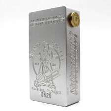 CHERRY BOMBER mechanical Mod Clone 18650 Battery Box 510 Thread Silver